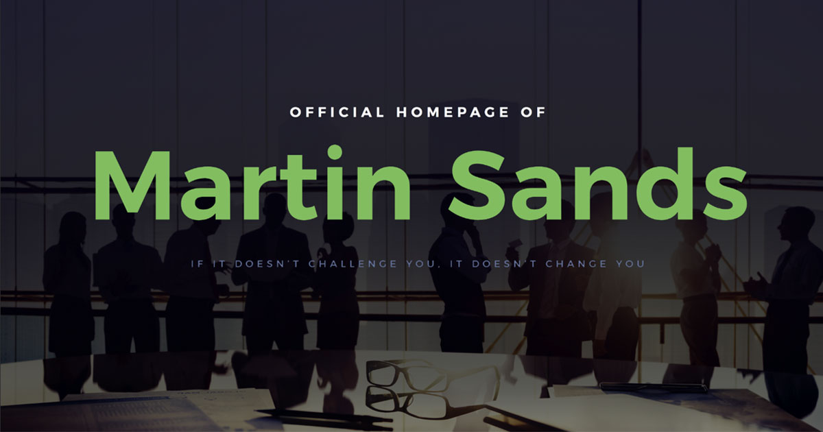Marty Sands Greenwich CT Website